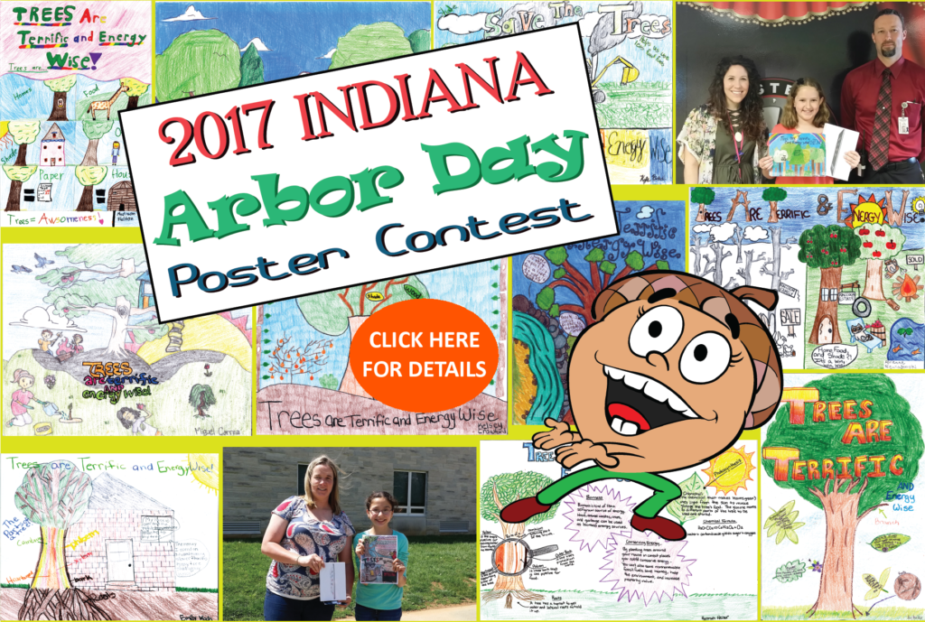 2017 INDIANA Arbor Day Poster Contest