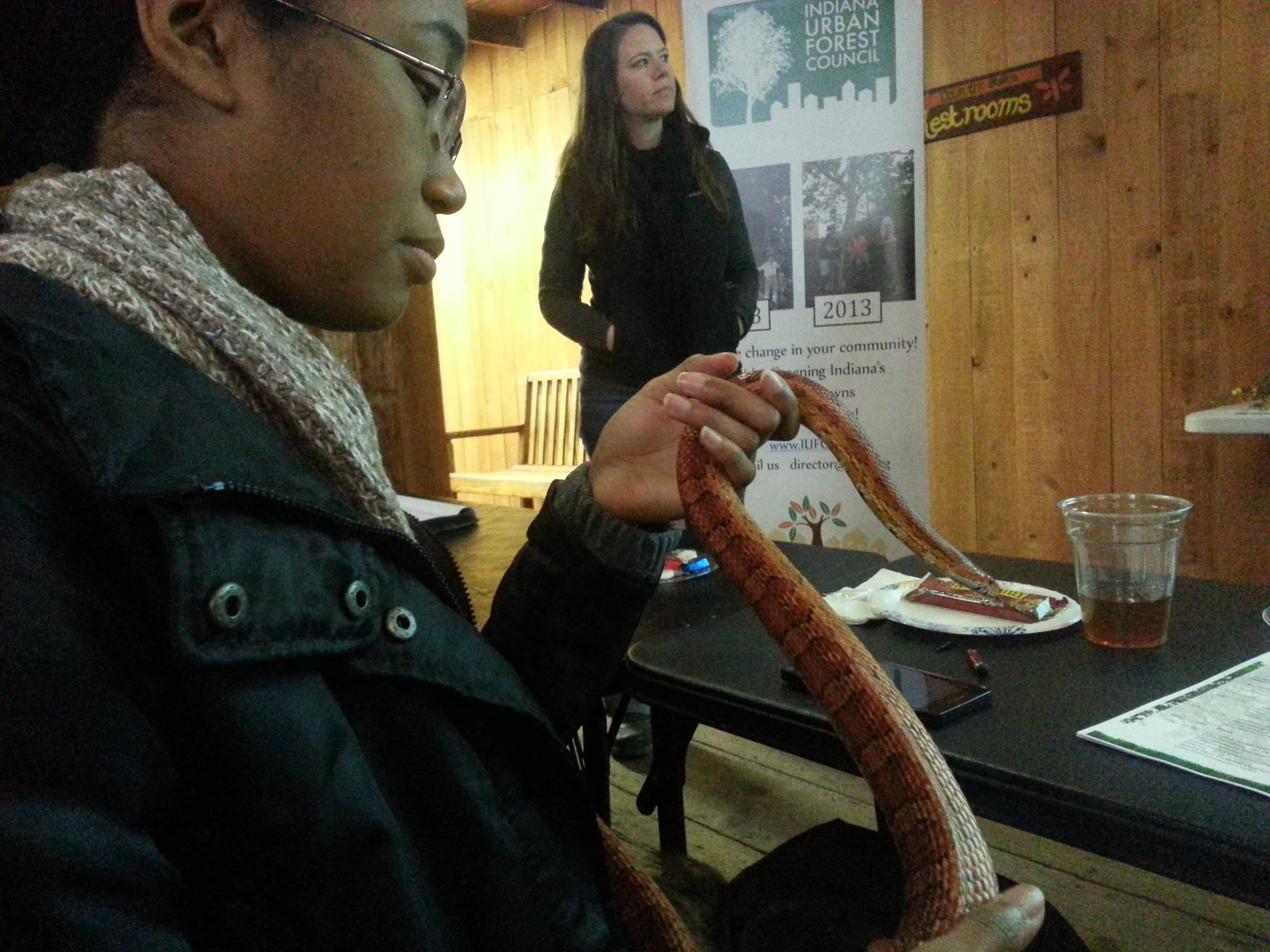 Jaira and the Corn Snake