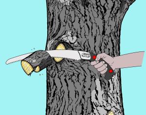 Ternary Pruning Method step 03