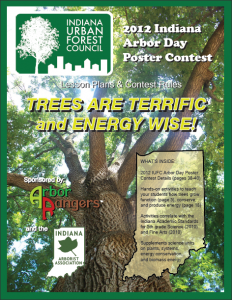 2012 IUFC Arbor Day Poster Contest Lesson Plans & Contest Rules Book