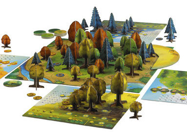 Photosynthesis Board Game - tabletop view