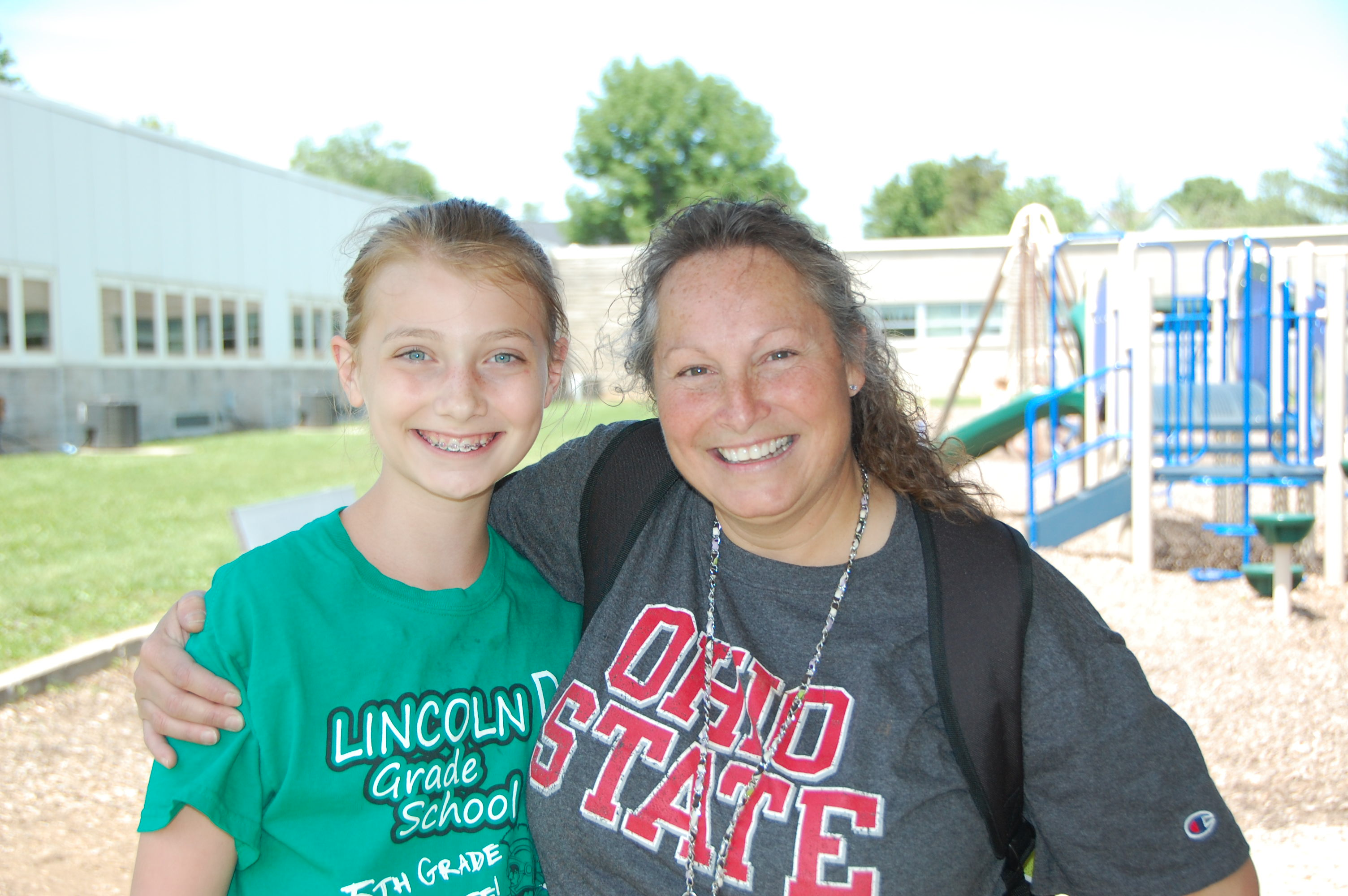 1st Place Runner-up: Paige Jones and her teacher Lydia Weber of Lincoln Elementary School