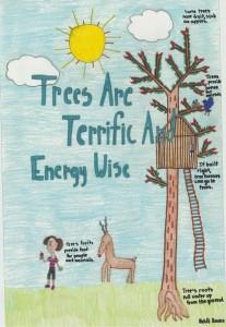 Heidi Kane's 2015 ADPC winning Arbor Day poster