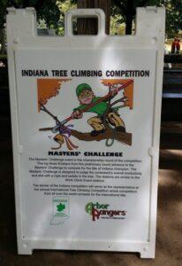 Masters' Challenge sign