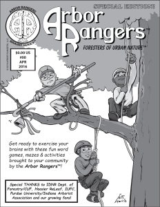 Arbor Rangers™ Brainy Series™ Activity pages promo issue